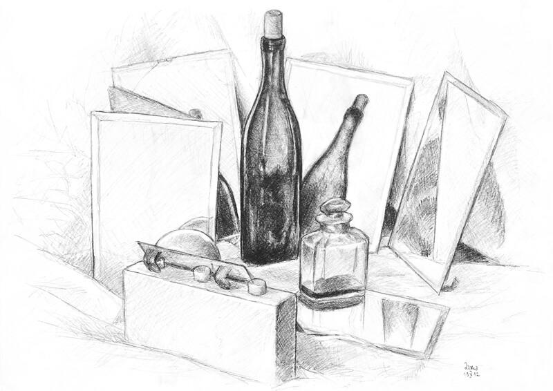 Rysunek - butelka