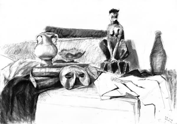 Rysunek uczestnika kursu