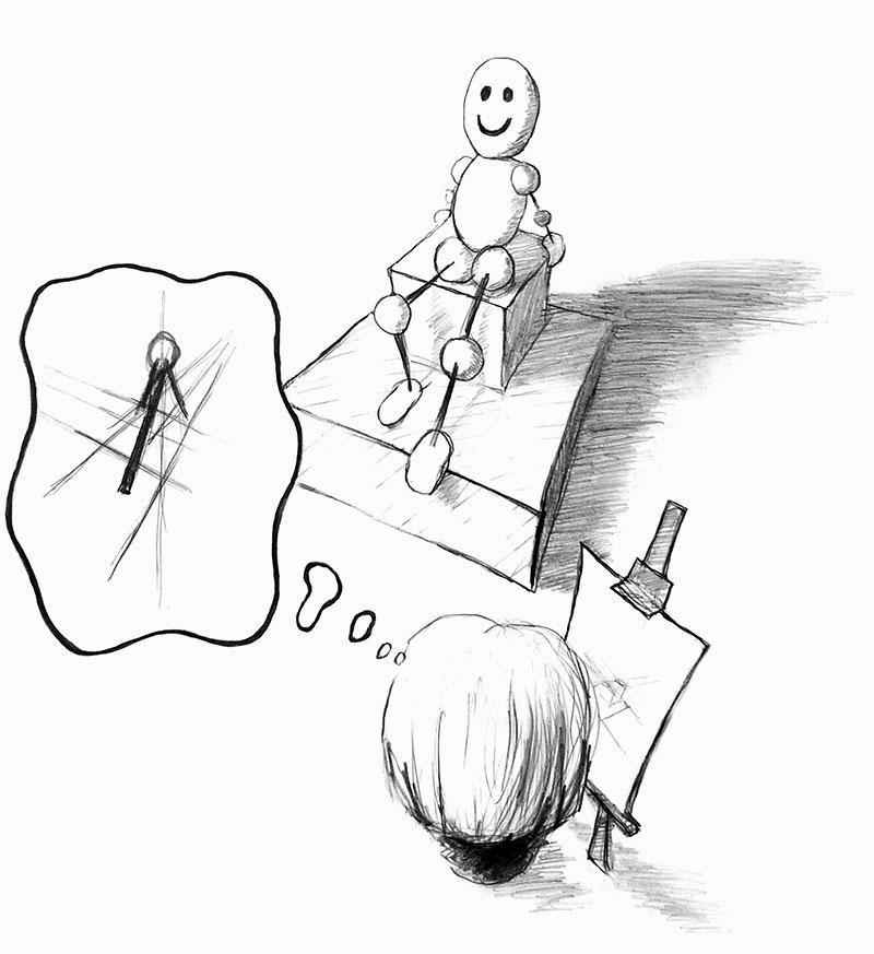 Świadome podejście do nauki rysunku / malarstwa