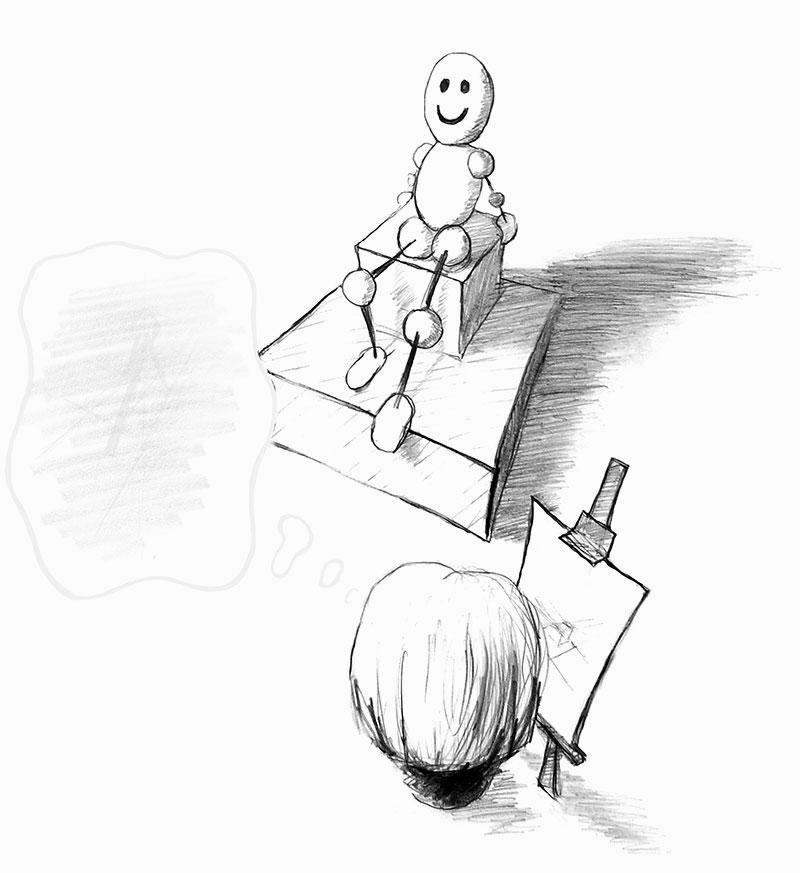 Intuicyjne podejście do nauki rysunku / malarstwa